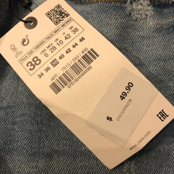 Zara jeans-80's Skinny in Sentinel Blue